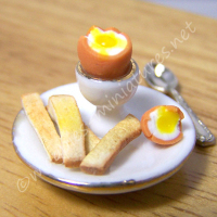 Boiled Egg and Toast Soldiers