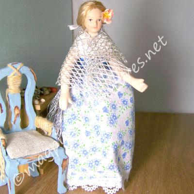 Gypsy in Blue floral