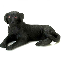 Black Labrador 1:24 24th Scale