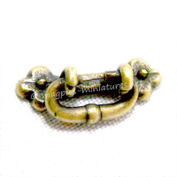 plain brass Drop Handle
