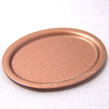 Copper Oval Platter