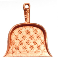 Copper Coloured Dustpan