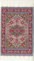 "Woven Turkish Carpet - 10"" x 6"""