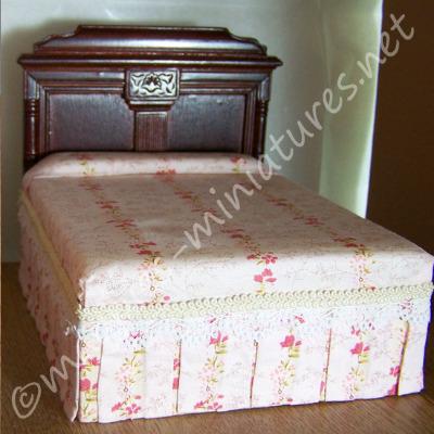Double Bed - Mahogany