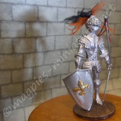 Small Knight in Armor Decoration
