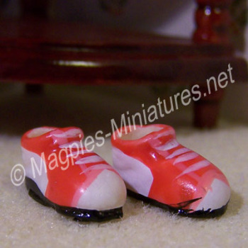 Childs Red Sneakers