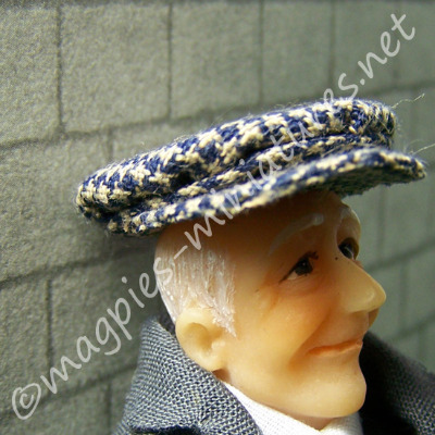 Men's flat cap - hat