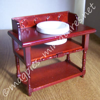 Wash Stand and Bowl