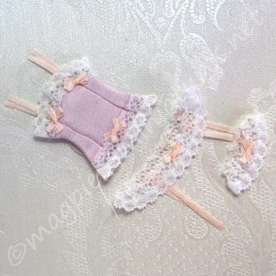 Pink Corset Set