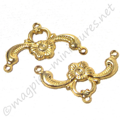 Brass Bell Pull 2pc