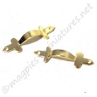 Brass Door Pull 2pc