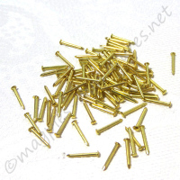 Brass 6mm Pin Nail 100pc/pkg