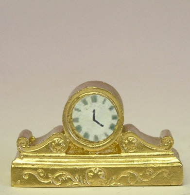 Gold Coloured Mantle Clock