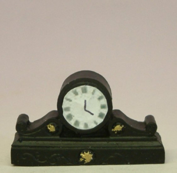 Black Coloured Mantle Clock