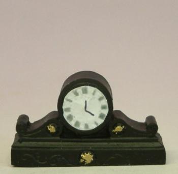 Black Coloured Mantle Clock