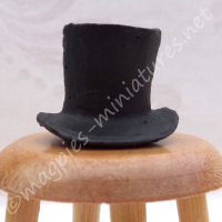 Black Top Hat  - 1:24 24th Scale