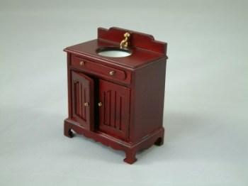 Mahogany Sink Cabinet