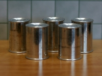 Set Of 5 Large Tins (Blank)