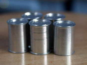Set Of 5 Small Tins (Blank)