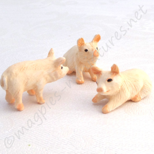 Piglets, Set Of 3