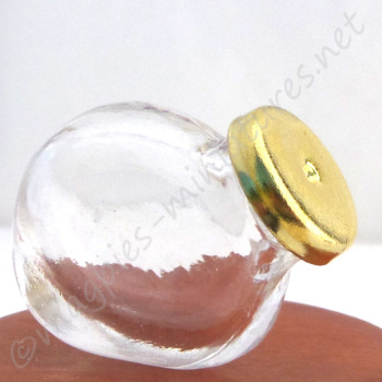 Empty Jar with Removable Lid
