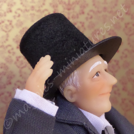 Felted Plastic Top Hat
