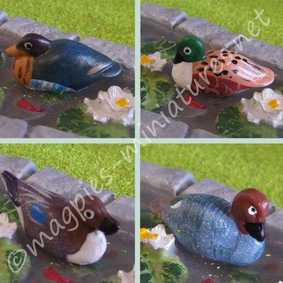 12th Scale - 12 Ducks