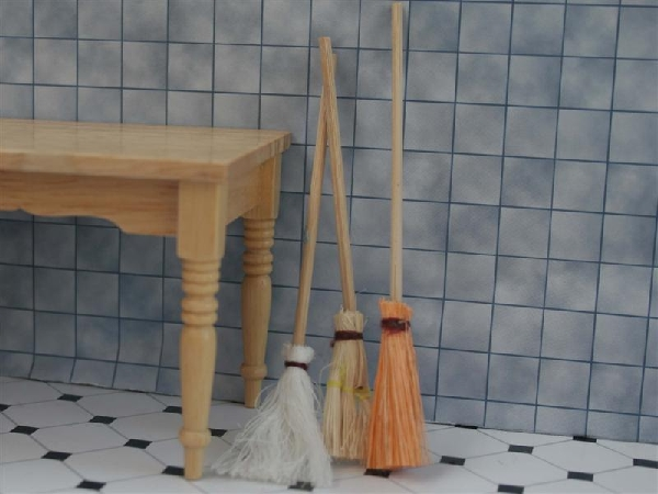 Set of 3 Brooms