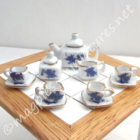 Tea Set - Square - FILLED or EMPTY