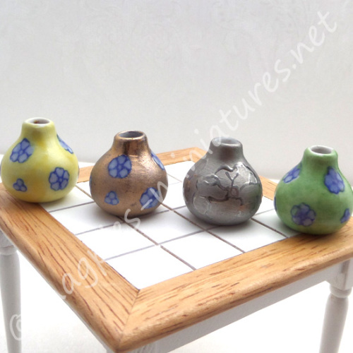 Ornamental Vases - set of 4