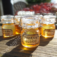 Witches Potion Bottle - Phoenix Blood
