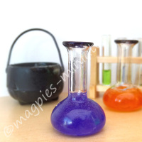 Chemist Flask - Halloween PURPLE potion