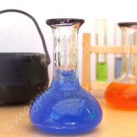 Chemist Flask - Halloween BLUE potion