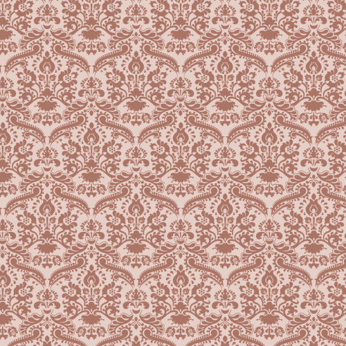 Wallpaper-Damask Rose-43cm x 60cm