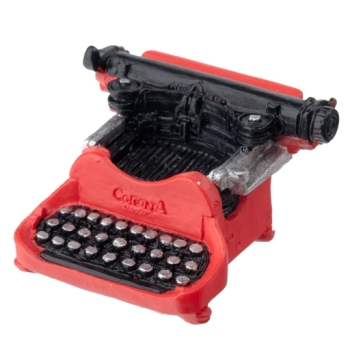 Resin Corona Typewriter
