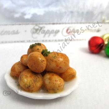 Roast Potatoes Serving Plate