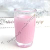 SECONDS Milkshake - Strawberry TO CLEAR
