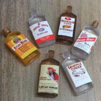 Spirit Bottles Pack of 6