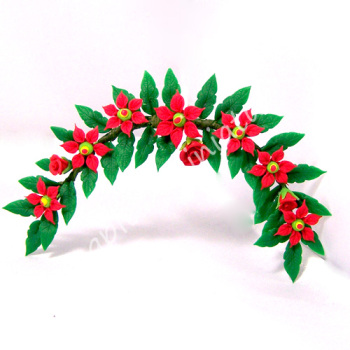Poinsettia Decoration