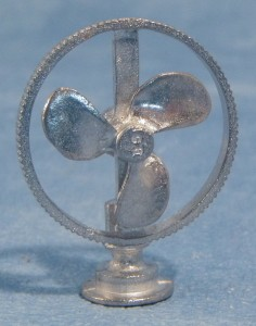 English Pewter Fan