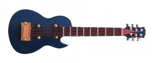 Blue gibson Guitar