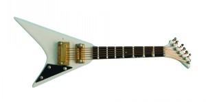 White Jackson Guitar