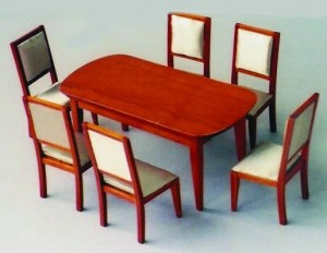 Modern Table & 6 Chairs