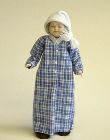 Grandad Doll in Nightshirt