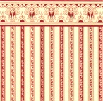 24th Scale Wallpaper Regency Stripe - Burgundy