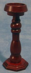 Wooden Pedestal, Mahogany