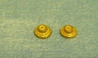 Brass Bell Push, Pack of 2