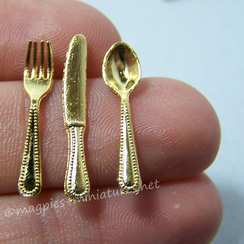 Gold Cutlery Set