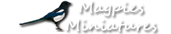 Magpies Miniatures, site logo.
