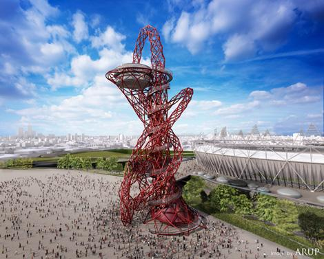 london olympic 2012 arcelormittal orbit anish kapoor